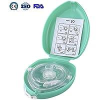 Aurelius Tasche CPR Maske für Erste-Hilfe-Wiederbelebung Gesichtsmaske, Single Use mit CE & ISO genehmigt (Green... preisvergleich bei billige-tabletten.eu