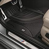 Original BMW Gummifußmatten Allwetterfußmatten LHD vorne für 5er G30 Limousine / G31 Touring