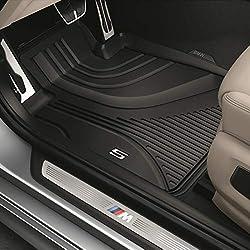 Original BMW Gummifußmatten Allwetterfußmatten LHD hinten für 5er G30 Limousine / G31 Touring