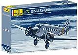 Glow2B Heller 80380 Modellbausatz Junkers Ju-52/3m