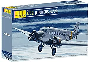 Heller - 80380 - Construction Et Maquettes - Junker Ju 52 - Echelle 1/72ème