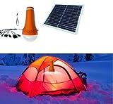 Camping Solarleuchte Laterne LED Akkuleuchte Powerbank 4400 mAh mit Solarpanel Taschenlampe Iphone Ladegerät für Camping und Outdoor I-Lumen®