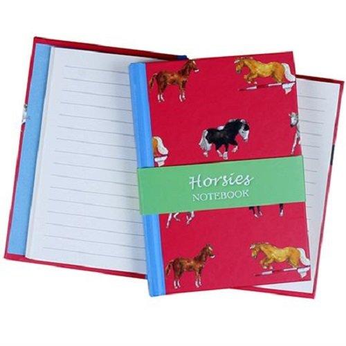 Milly Green Red Horse Design A6Notizbuch liniert–Pferd Farben & Rassen Design (West Highland Terrier, Pudel)