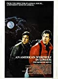 American Werewolf In London Poster 01 Metal Sign A4 12x8 Aluminium