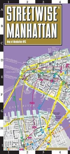 Streetwise Manhattan Map - Laminated City Center Street Map of Manhattan, New York (Street Manhattan)