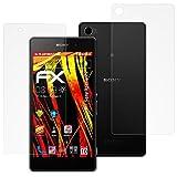 atFolix Schutzfolie kompatibel mit Sony Xperia Z2 Bildschirmschutzfolie, HD-Entspiegelung FX Folie (3er Set)