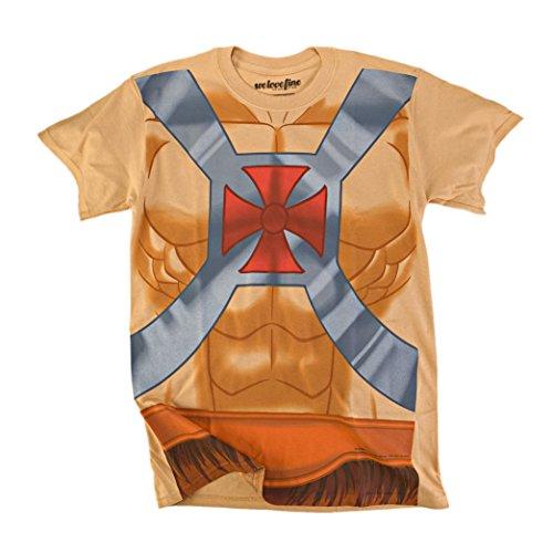 I Am He-Man Herren Kostüm T-Shirt | (T Kostüm Man Shirt He)