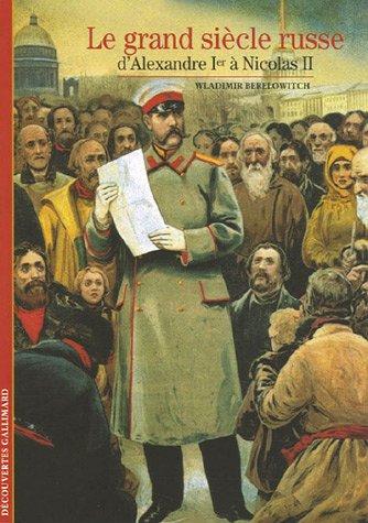 Le grand siècle russe par Wladimir Berelowitch