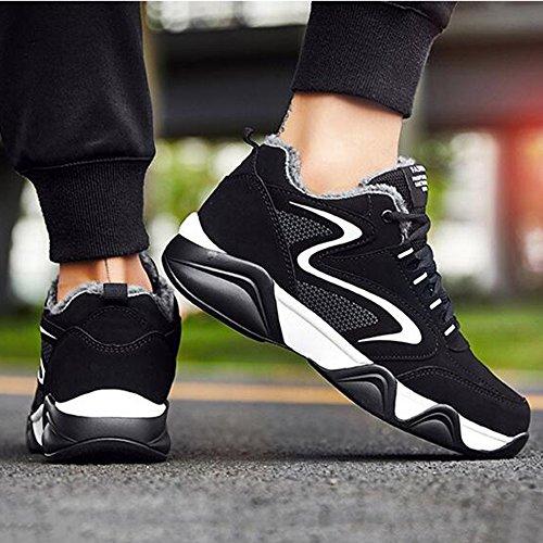 FEIFEI Scarpe da uomo per il tempo libero Tenere caldo cotone scarpe 3 colori ( Colore : 03 , dimensioni : EU39/UK6.5/CN40 ) 01