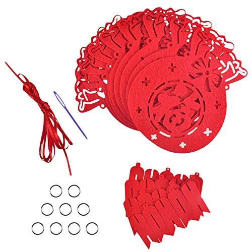 Matthew00Felix Bright Red Spring Festival String Banner Chinesisches Guten Rutsch ins Neue Jahr Supplies