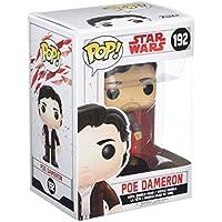 Star Wars - Figuara de vinilo: POP! Bobble: Star Wars: E8 TLJ: Poe Dameron