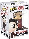 Star Wars - Figuara de Vinilo: Pop! Bobble E8 TLJ: PoE Dameron