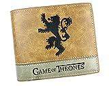 Cartera Billetera de Game of Thrones Casa Lannister Marrón Piel