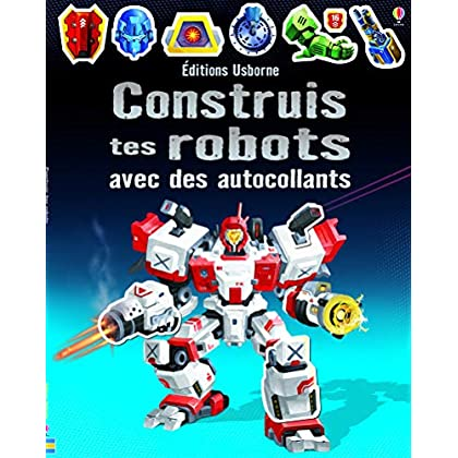 Construis tes robots avec des autocollants