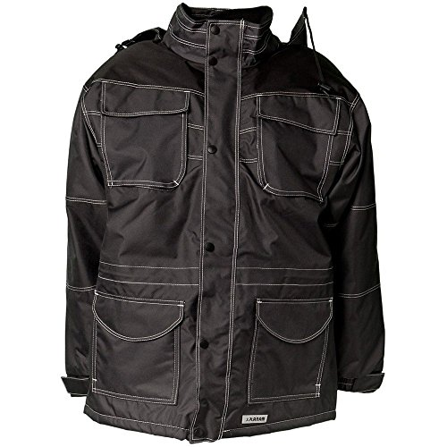STEAL PARKA NEGRO PLANAM/GRIS GRIS NEGRO TALLA:EXTRA-LARGE