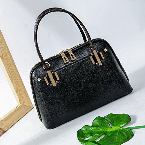 Mefly Der Neue Frühling Und Sommer Litchistria Western Style Shell Tasche Tasche black