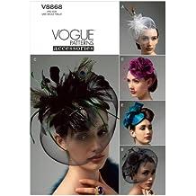 Vogue Patterns V8868 - Patrones de costura para sombreros (todas las tallas)