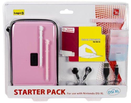 Nintendo DSi XL - Starter Pack Pink Zubehörset