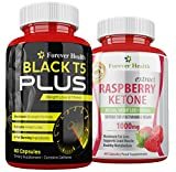 T5 Black PLUS + Raspberry Ketone For Super Fast WEIGHT LOSS - STRONG FAT BURNER - Burns Body Fat FAST ! Lose Weight And Slim Fast With These SUPER STRONG Slimming Pill ! Specially Formulated for Super Fast Weight Loss and Boost Metabolism - 60 x High Stre