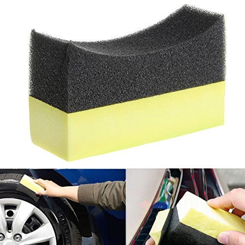 fen-Reifen-Dressing-Applikator gebogener Schaum-Schwamm-Auflage ()