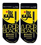 #6: Maybelline New York Colossal Kajal, Super Black, 0.35g (pack of 2)