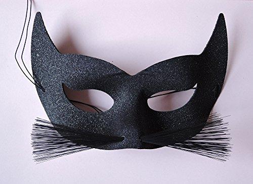Elegante venezianische Katzen-Maske - Katze Venezianische Maske