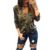 Morbuy Damen Sweatshirt, Casual Pullover Langarm T-Shirt Rundhals Ausschnitt Lose Bluse Oberteil Hemd Oversize Tops Sweatjacke Sport
