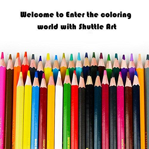 36farbigen Aquarell Bleistifte, Mystery 36Farben Wasserlösliche Buntstifte, Set für Art...