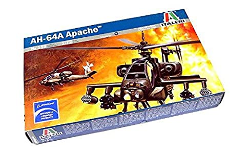 RCECHO® ITALERI Helicopter Model 1/72 AH-64A Apache Scale Hobby 159 T0159 with RCECHO® Full Version Apps Edition