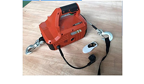 Portable power winch