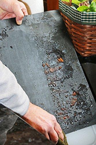 519MhUOmzqL - sujeo Premium Qualität Grill/Grillen Automatten für gas-bbq Grill/anthrazit/Elektrische für Steak/Burger/Hot Dogs/Gemüse, draußen, und innen Grillen BBQ Mats Sicher für Kinder Set 3