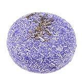 D DOLITY Natur Haarseife Haarwaschseife, Reiche Auswahl - Lavendel lila