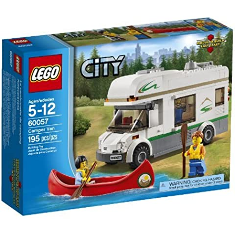 LEGO City Great Vehicles 60057 Camper Van (Discontinued by manufacturer) by LEGO