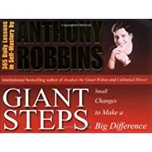 Giant Steps: Small Changes to Make a Big Difference by Tony Robbins (2001-01-02)