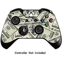 GameXcel ®  Controlador Xbox Una piel - Xbox personalizada 1 mando a distancia de vinilo pegatinas - Modded Xbox One Accesorios cubren la etiqueta - Big Ballin [ Controlador no está incluido]