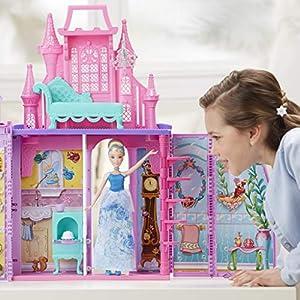 Disney Princess - Castillo Maletín + Cenicienta Brillo Real