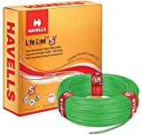 Havells Lifeline Cable WHFFDNGA14X0 4 sq mm Wire (Green)