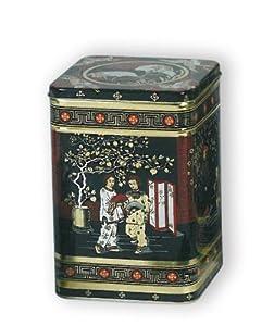 Buzz Boîte à thé en métal Style japonais classique Hauteur 14,5cm Capacité1,4kg