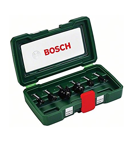 Amazon Router Bits (Bosch DIY 6tlg. Fräser-Set HM (Ø 8 mm))