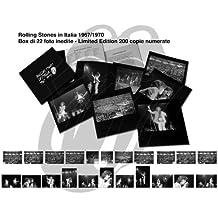 Rolling stones in Italia 1967-1970. Box di 22 foto
