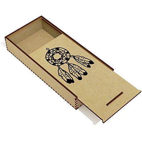 Azeeda 'Atrapasueños' Estuche de lápices de Madera (PC00014349)