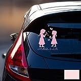 Autotattoo Heckscheibenaufkleber Fahrzeug Sticker Aufkleber Baby Schneekönigin Frozen Kinder M1872