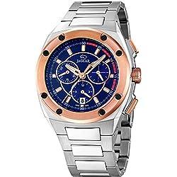 Reloj Suizo Jaguar Hombre J808/3 Cronógrafo Acero, SWISS MADE