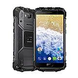 Ulefone Armor 2S Outdoor Smartphone ohne Vertrag (5 Zoll FHD Display mit Corning Glas 3, Quad-Core Prosessor, 2GB RAM+16GB ROM, 13MP+8MP Wassdichte Kameras, IP68-Zertifizierung, Dual-SIM (Nano), Android 7.0) (Armor 2s Grau)