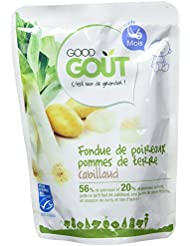 Good Goût Fondue de Poire aux Pommes de Terre Cabillaud dès 6 Mois