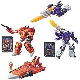 Transformers Generations Titans Return Voyager Wave 1 Set of 2 Action Figure (Sentinel Prime & Galvatron)