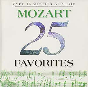 25 Mozart Favorites [Import USA]
