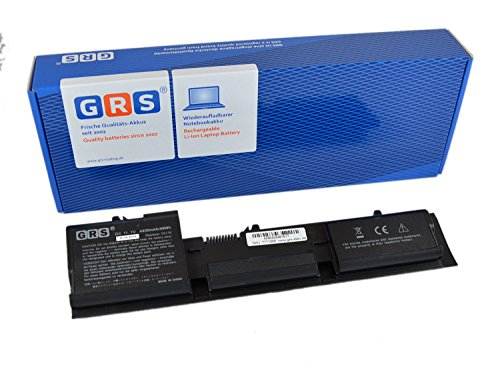 GRS Batterie pour Dell Latitude D410 remplacé Y5179, GU490 T6142 T6142, 4400 mAh