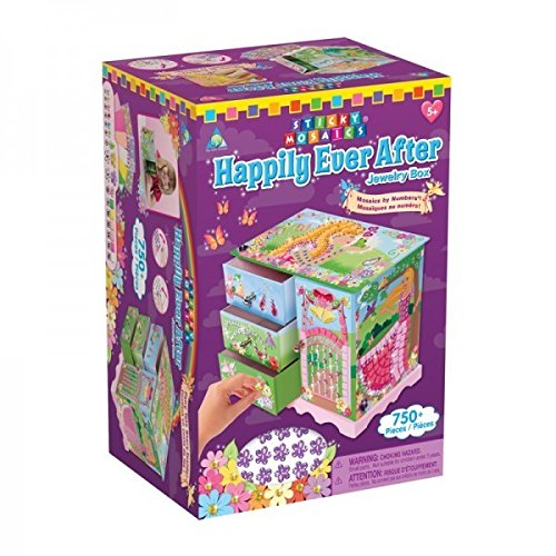 Sticky Mosaics - Happily Ever After Jewelry Box