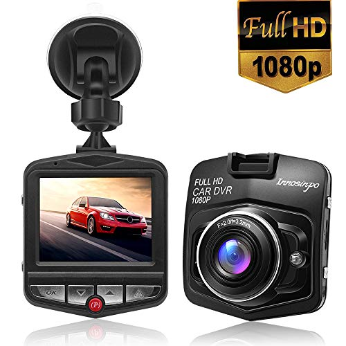 Dash Cam Full HD 1080P Car Dashboard Camera DVR Driving Video Recorder,Built in G-Sensor,Parking Monitor,Motion Detection,Loop Recording